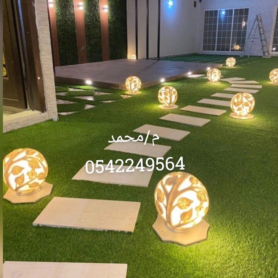 شركة جنة الحدائق 0542249564 لتصميم وتنسيق الحدائق
